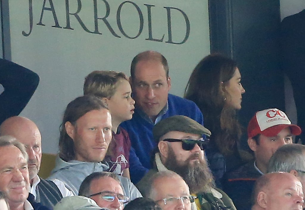 Prince George Is an Aston Villa Fan, Just Like His Dad