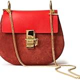 Chloé Drew Suede Contrast Bag ($1,950)