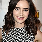 Lily Collins: Long to Lob