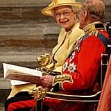 Queen Elizabeth II's Reaction