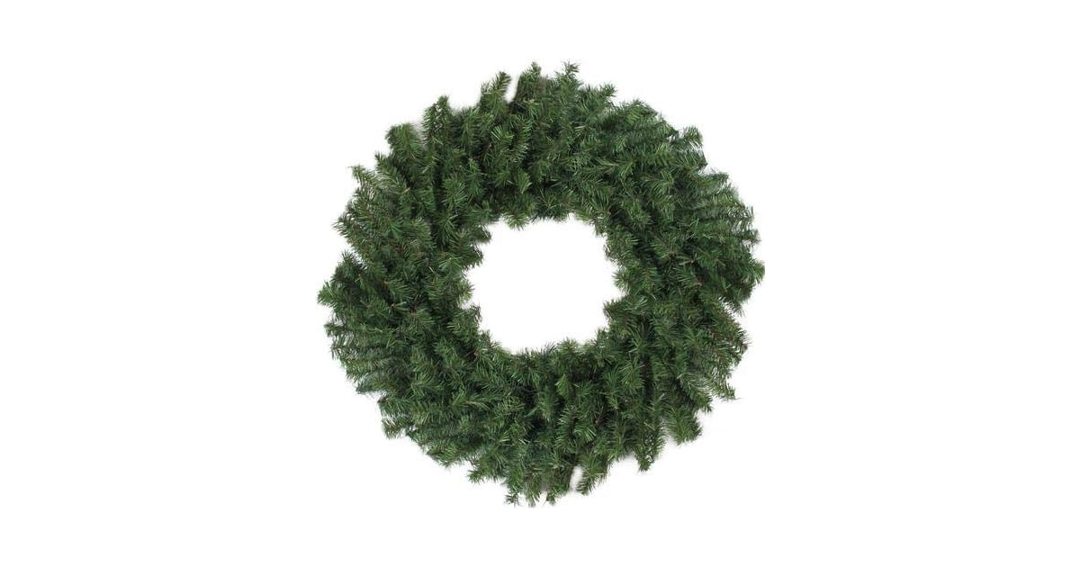 Darice 24 Quot Canadian Pine Artificial Christmas Wreath