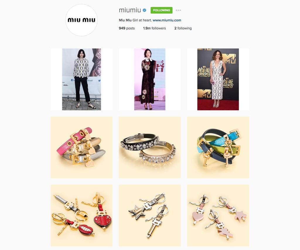 Miu Miu's Instagram Feed