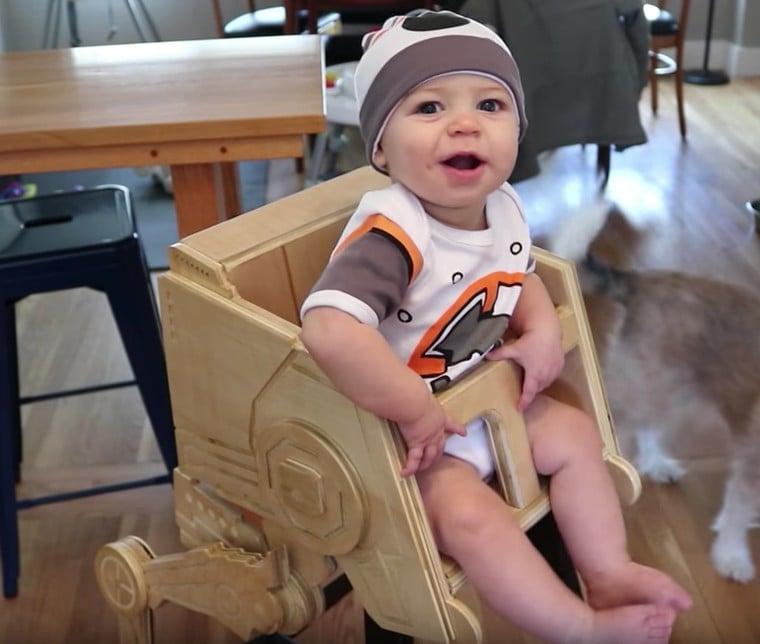 Star Wars Wooden Baby Gear