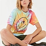 Melting Smiley Tie-Dye Tee