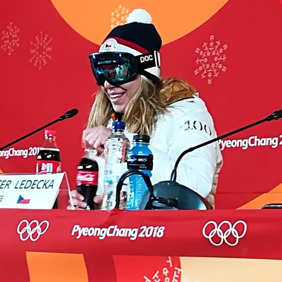 Ester Ledecka No Makeup at the 2018 Winter Olympics
