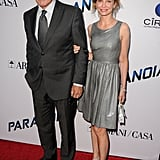 Calista Flockhart and Harrison Ford walked the red carpet.