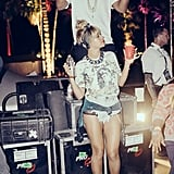 Beyoncé and Jay Z partied during the second weekend of Coachella.  Source: Tumblr user beyonce