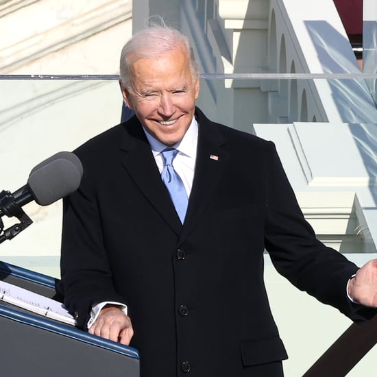 Joe Biden Wears a Navy Ralph Lauren Suit For Inauguration