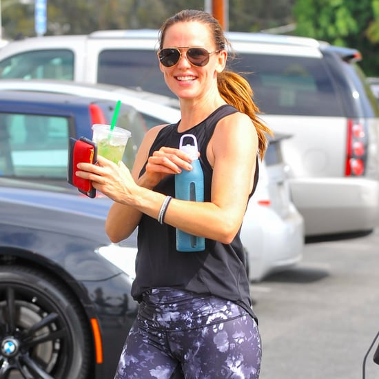 Jennifer Garner Leaving the Gym in LA August 2016