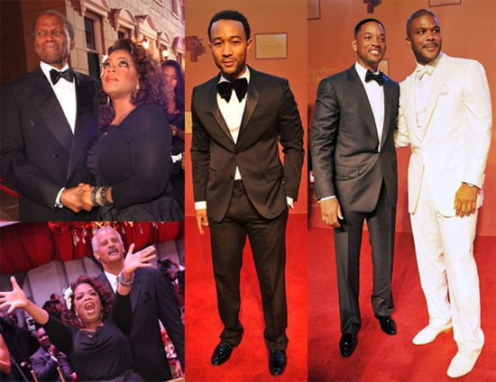 Photos of Tyler Perry, Oprah Winfey, Will Smith, Sidney Poitier at Tyler's New Motion Picture and Television Studio