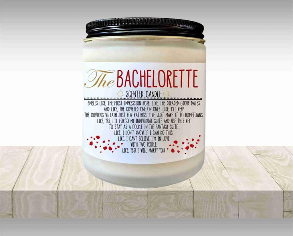 """This Bachelorette Candle Smells Like """"I Don't Know If I Can Do This"""" and """"Yes, I Will Marry You!"""""""