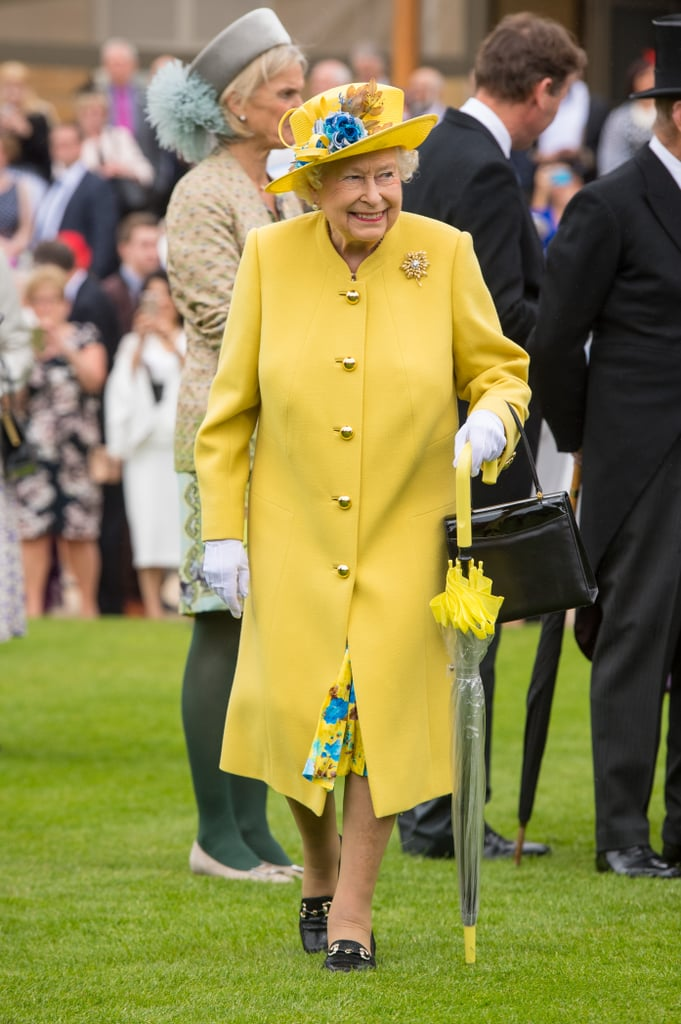 "On why she wears bright colours on royal appearances: ""If I wore beige, nobody would know who I am.""  When opening an exhibition of artist Lucian Freud's nude paintings, the queen told her aide she had been very careful to make sure she ""was not photographed between a pair of those great thighs.""  During that same trip, a curator asked the queen if she had ever been painted by Lucian Freud. She smiled and said, ""Yes, but not like that.""  At an investiture ceremony, a member of the queen's staff dropped the cushion holding the medals. ""Just put them back any way you can. I'll give them anything and you can sort it out afterward,"" she said."