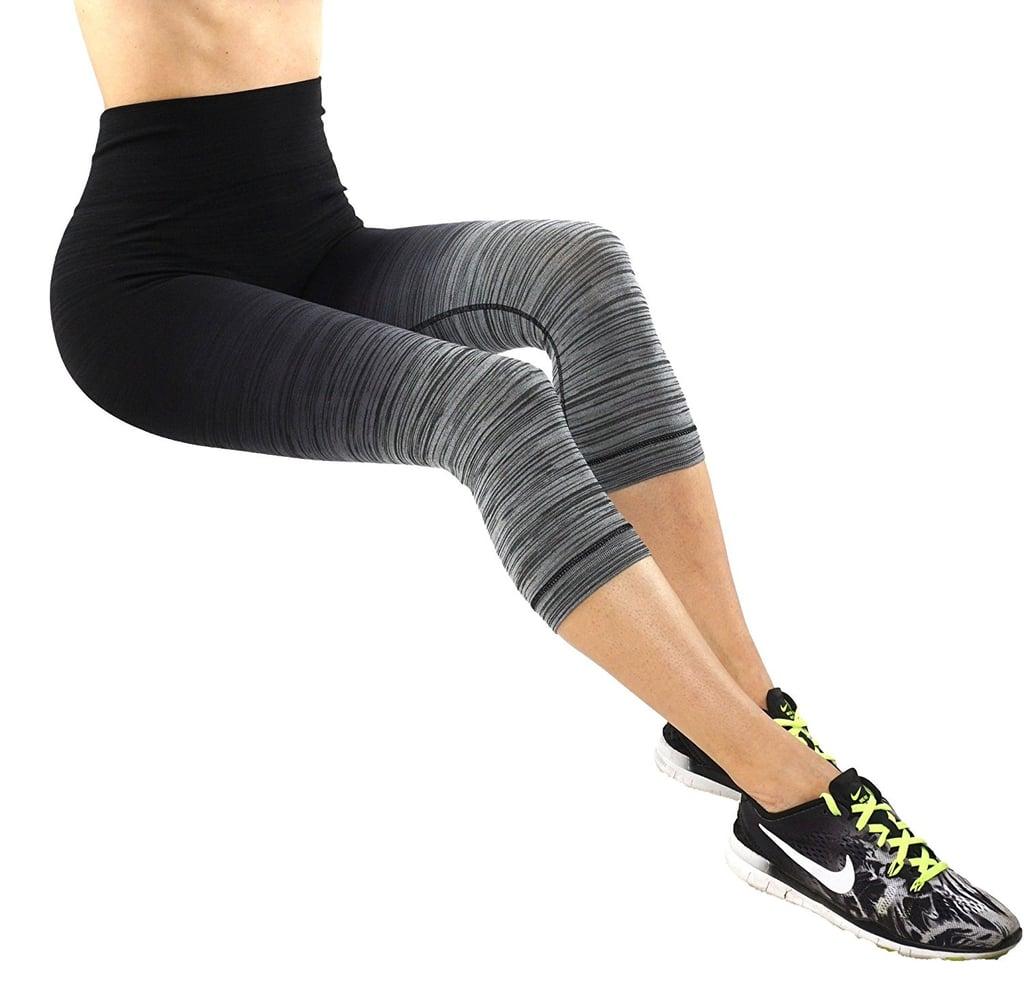 Pro Fit Ombré-Print Body-Shaping Leggings