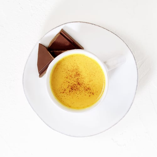 Treat: Golden Milk + Chocolate
