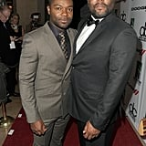 David Oyelowo and Lee Daniels posed for a photo on the Hollywood Film Awards red carpet.