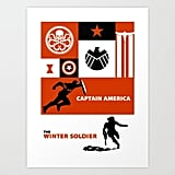 The Winter Soldier ART PRINT MINI ($15)