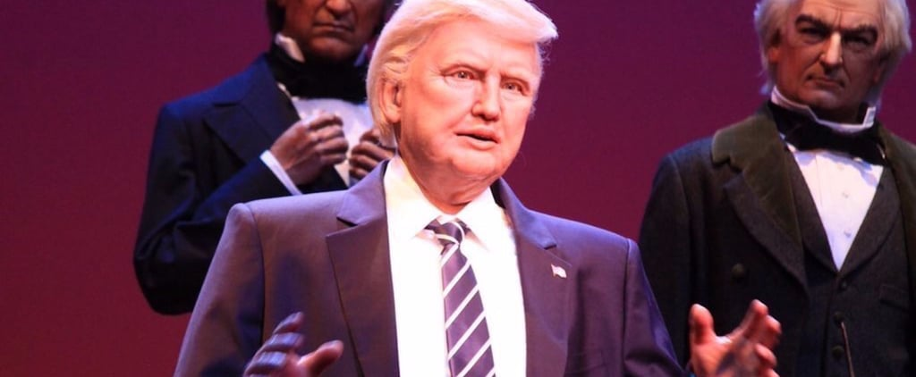 Donald Trump Robot at Disney Reactions December 2017