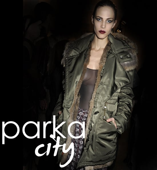 Fall 2011 & Winter 2012 Trends - How to Wear Parkas and Anoraks