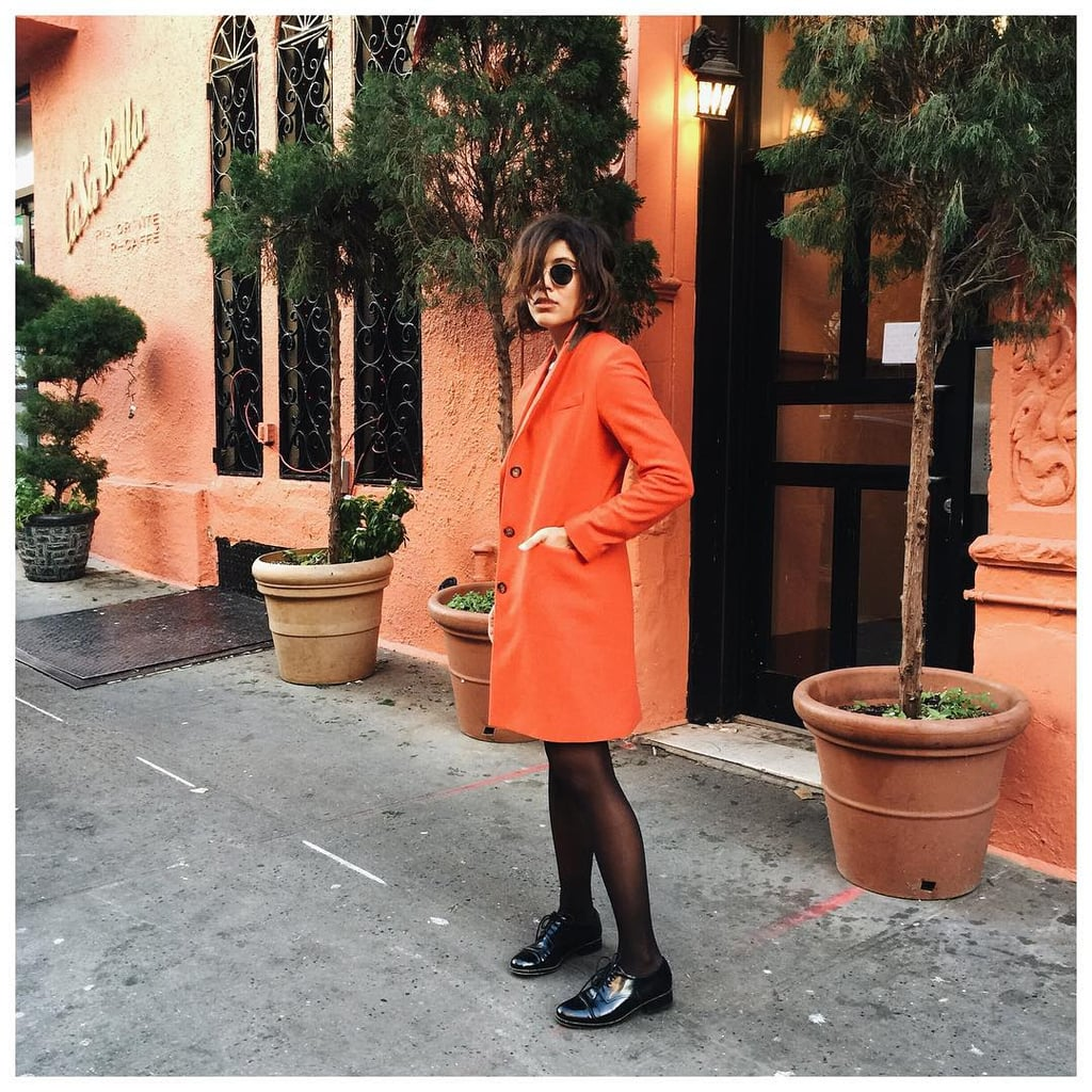 Take a Risk With an Orange Outfit