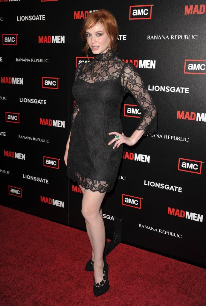 Jon Hamm, Christina Hendricks and More at the Premiere of Mad Men