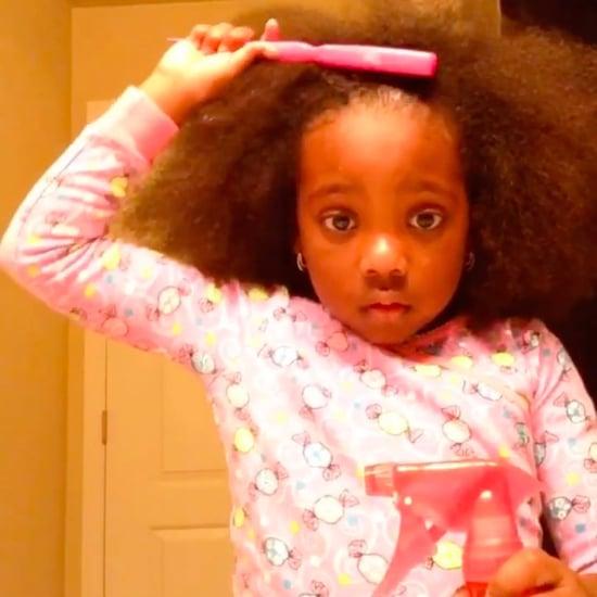 Little Girl's Hair Tutorial Gone Wrong