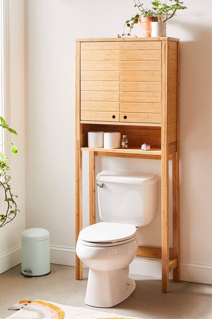 Silvia Bamboo Over-the-Toilet Storage Shelf