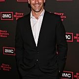 Photos of Jon Hamm, January Jones at the AMC Cocktail Reception in LA