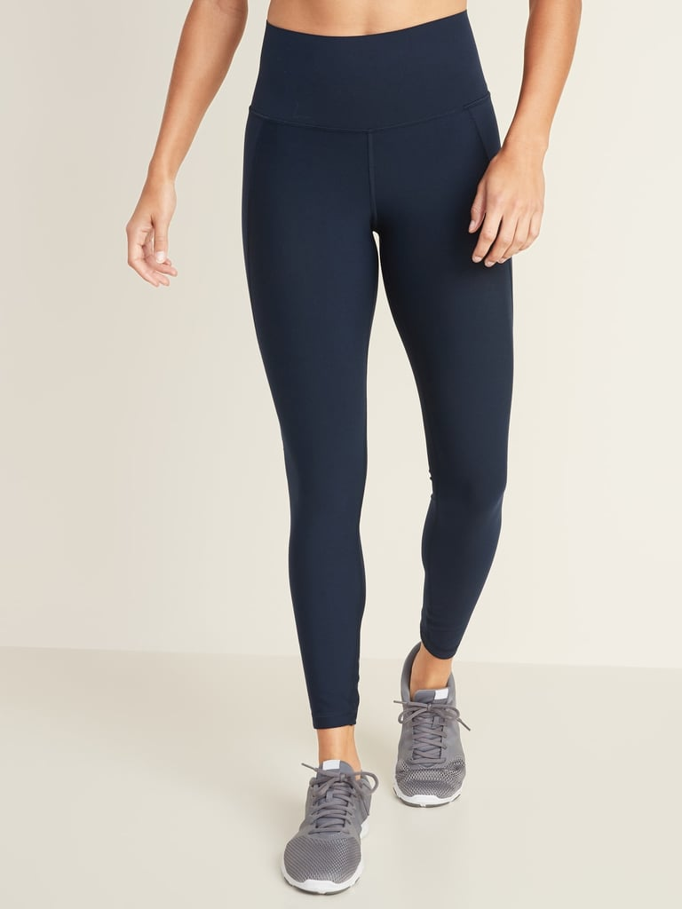 Old Navy High-Waisted Elevate Built-In Sculpt 7/8-Length Compression Leggings