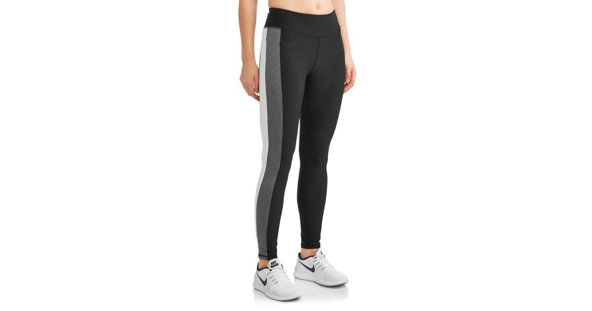 9c1b8ab93e71d N.Y.L. Sport Women's Active Side Stripe Performance Legging | Best Leggings  at Walmart | POPSUGAR Fitness Photo 13