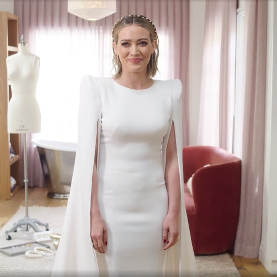 Hilary Duff's Jenny Packham Wedding Dress Video