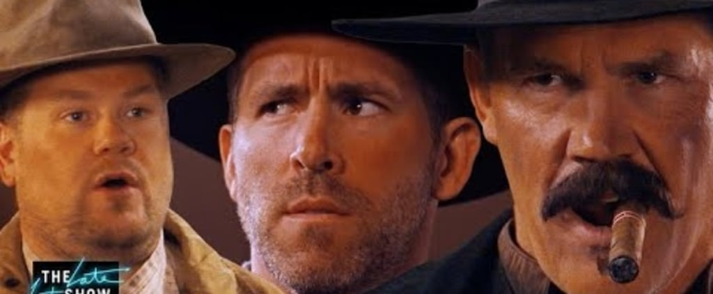 Ryan Reynolds and Josh Brolin Western With James Corden