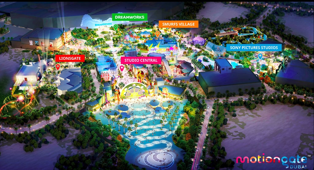 27 motiongate Rides Will Be at Dubai Parks and Resorts