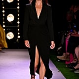 Emily DiDonato on the Brandon Maxwell Runway at New York Fashion Week