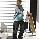Hilary Duff pregnant pictures.