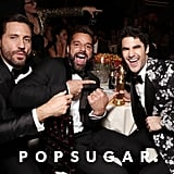 Pictured: Edgar Ramirez, Ricky Martin, and Darren Criss