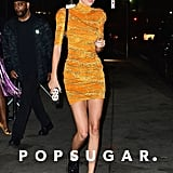 Kendall Jenner Wears Dr. Martens in NYC