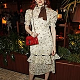 Karen Elson at the LOVE & YouTube Party During London Fashion Week
