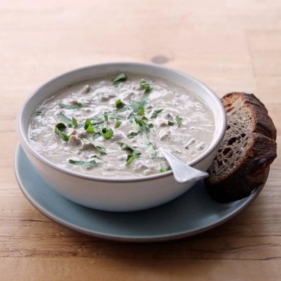 Vegan Mushroom Soup With Cashew Cream