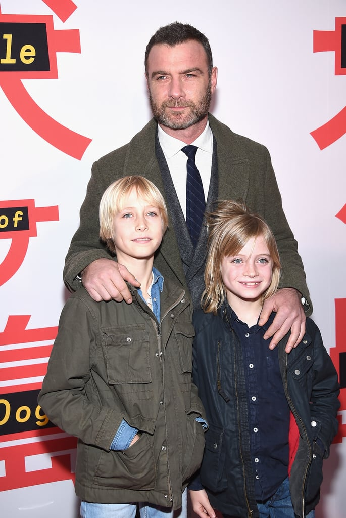 "Liev Schreiber is enjoying some quality family time. On Tuesday, the actor attended the premiere of his stop-motion animated movie Isle of Dogs with his sons, Alexander and Samuel, at The Metropolitan Museum of Art in NYC. Liev (who is the voice of Spots in the Wes Anderson film) kept his boys close as they posed for a few photos on the red carpet.  During their outing, the 10-year-old and 9-year-old expressed an interest in following in their father's footsteps when talking with Entertainment Tonight. When asked if they would ever consider acting, Liev's youngest, who goes by Kai, eagerly responded, ""Yeah!"" while nodding his head.  While the trio enjoyed a guys' night out on the town, Liev's ex, Naomi Watts, supported her close friend Simon Baker at the premiere of his film Breath not too far away at the Francesca Beale Theater. Since Liev and Naomi split in September 2016, the two have remained friendly exes as they coparent their children. They even had a sweet reunion last year as they celebrated the 10th birthday of their son Alexander."