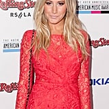 Ashley Tisdale has joined Left Behind to play the daughter of Nicolas Cage's character.