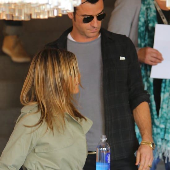 Jennifer Aniston and Justin Theroux Shop For Home Goods