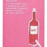 Alcohol Fact Card