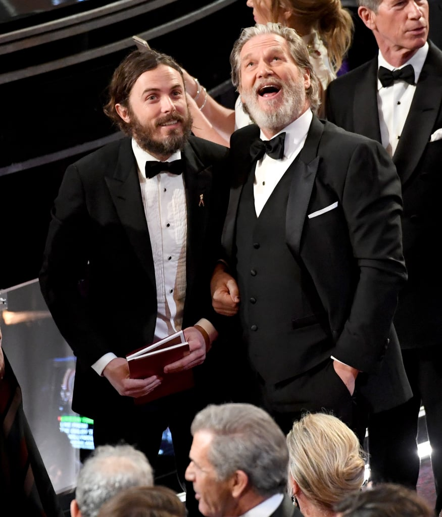 Casey Affleck and Jeff Bridges marveled at the huge audience.