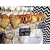 These Sweet Lauren Cakes pie pops at Unveiled are the sweetest!