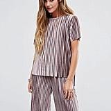 Glamorous Plisse T-Shirt ($34)