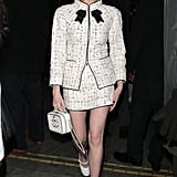 Lucy Boynton at the Charles Finch Pre-BAFTA Party