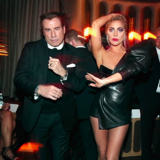Lady Gaga and John Travolta at 2017 Grammys Afterparty