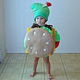Baby Cheeseburger Costume
