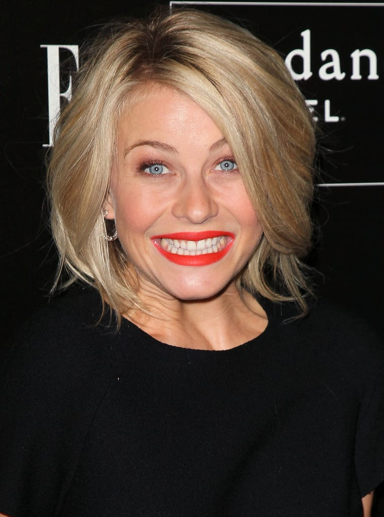 Julianne Hough was excited to attend the party in honor of Joe Zee.