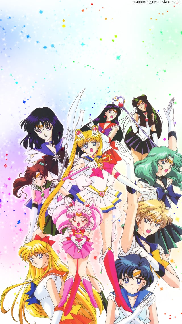 A & A Auto >> Sailor Moon S Group | Geeky iPhone Wallpapers | POPSUGAR ...